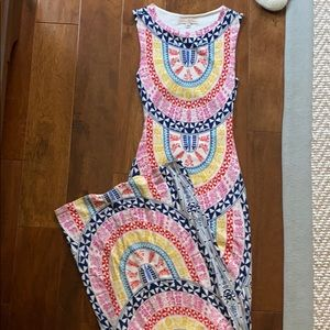 Mara Hoffman Multi-Colored Maxi Dress